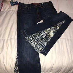 Lucky bell bottom jeans women's  6 hippie flare